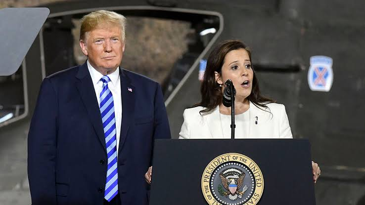 Stefanik and Trump