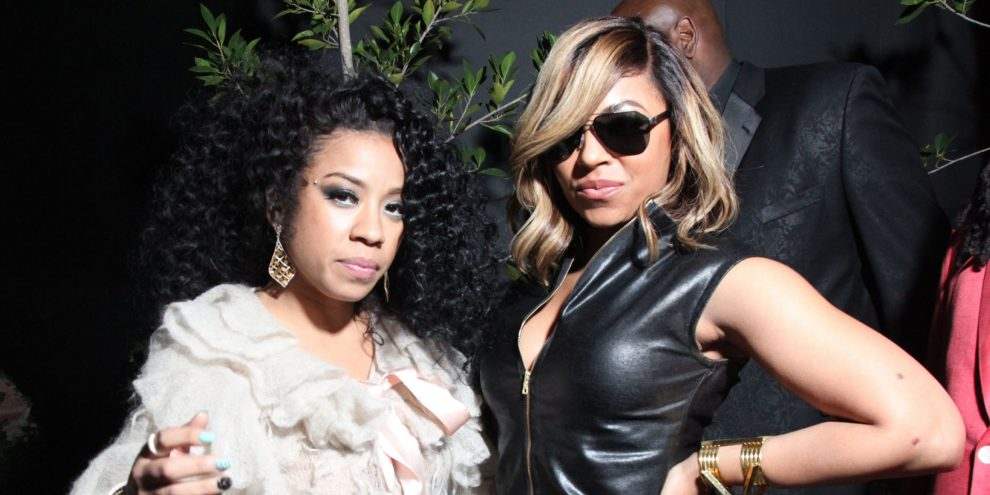 Keyshia Coleare and Ashanti 'Verzuz'