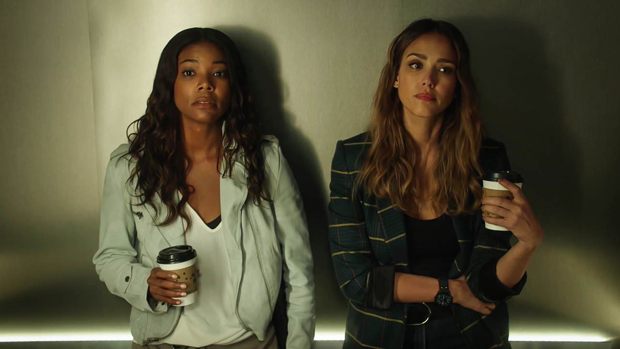 Jessica Alba and Gabrielle Union in L.A.'s Finest