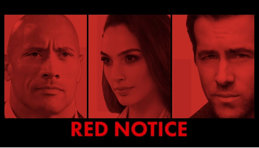 Red Notice, Netflix, Dwayne Johnson